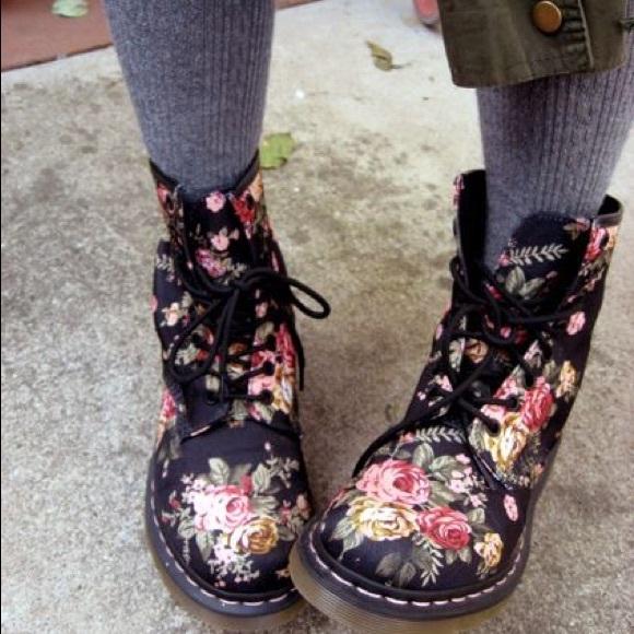Victorian Flowers Boots | Poshmark